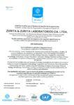 Certificado ISO 9001- 2015 (actual 2020)