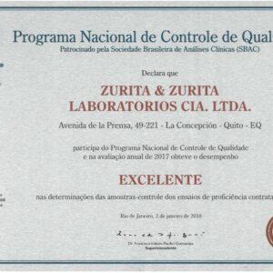 Certificado 2017 PNCQ