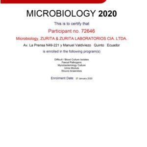 Certificate of Enrolment - MI 72646 - 2020